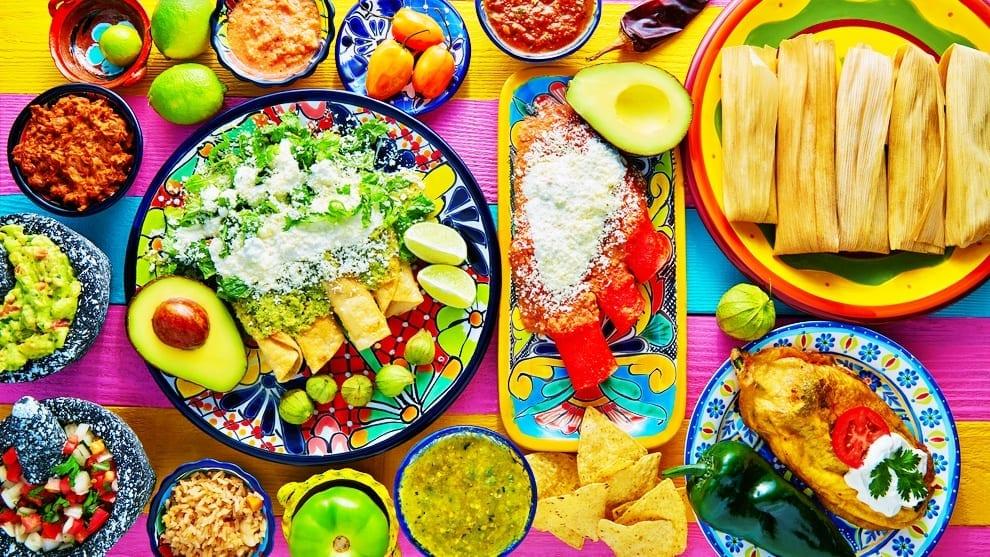 Viaja por México a través de su gastronomía.