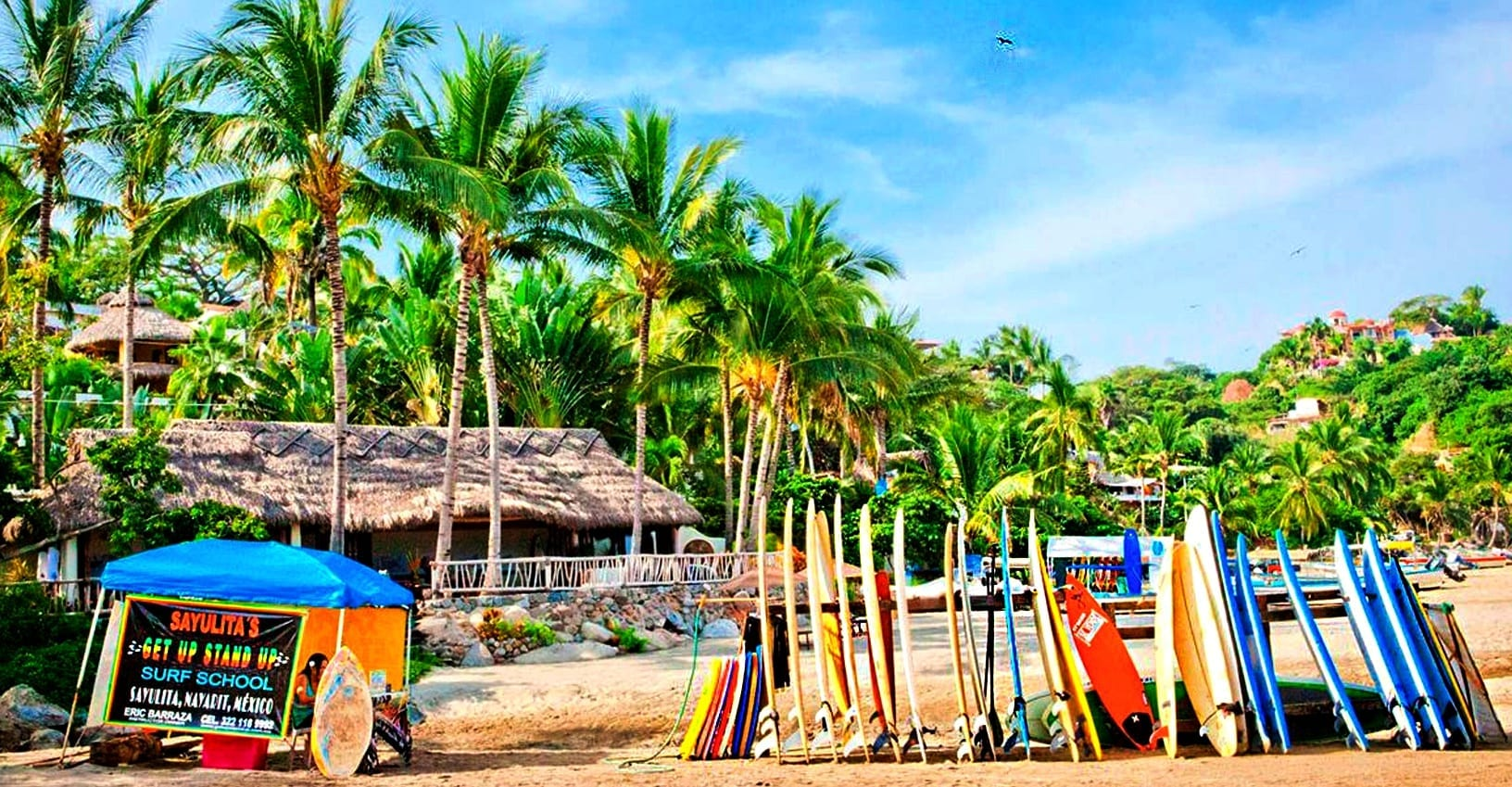 Sayulita, el pueblo mágico surfer de Nayarit.