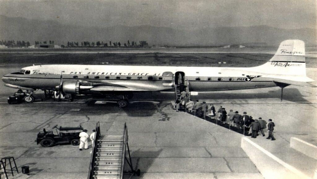 El Avión que aterrizó 37 años después