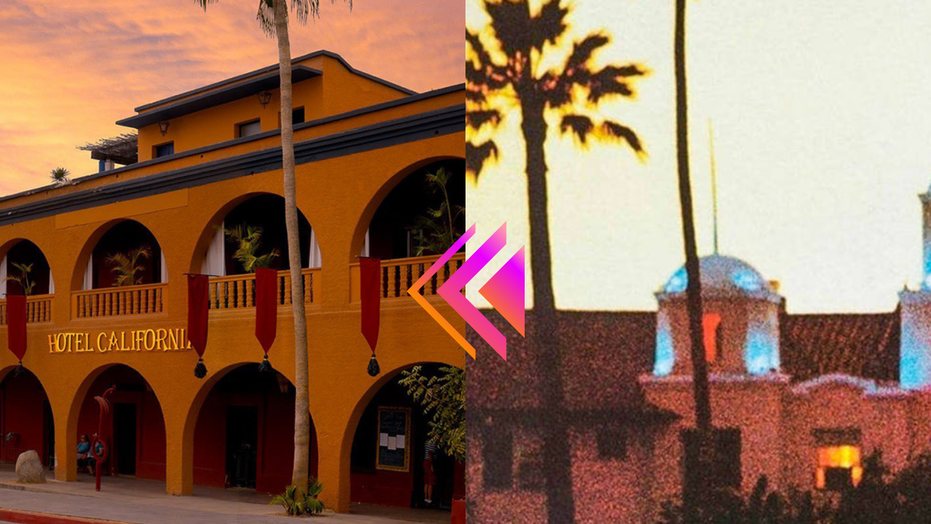 ¿El hotel California de Todos Santos es el de la canción?
